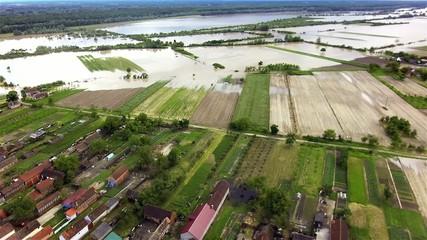 Floods near the Serbian-Croatian border
