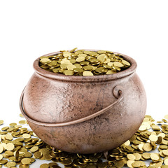 golden pot