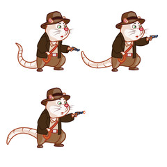 Adventurer Rat Shooting Pistol Sprite