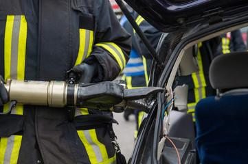 Hydraulische Rettungsschere - Feuerwehr