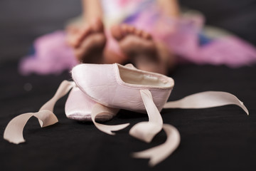 Ballerina Girl Feet