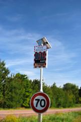 Radar pédagogique ralentir