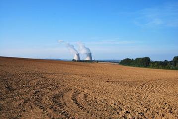 Centrale Nucléaire de Nogent sur Seine France