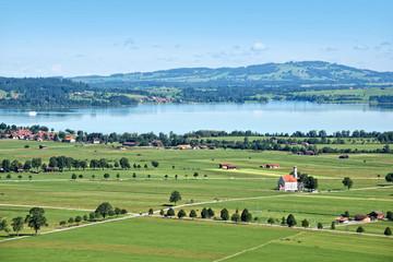 Landscape of Bavaria, Germany