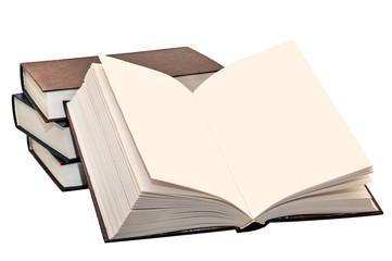 Раскрытая книга без текста