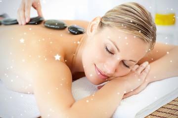 Relaxed woman having a massage © WavebreakMediaMicro