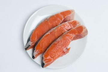 銀鮭 振り塩