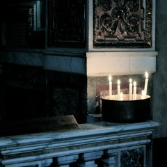 Katholische Kirche - Kerzen