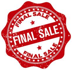 final sale seal