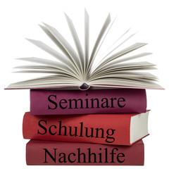 Bücher - Seminare,Schulung,Nachhilfe