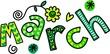 March Clip Art - 70628961