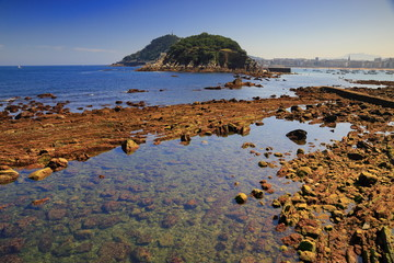 Donostia-Low tide