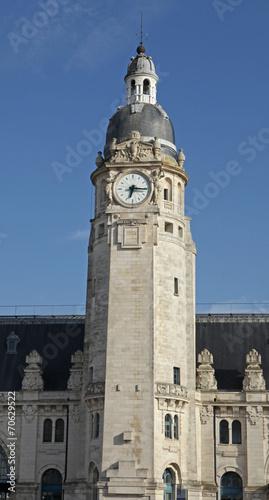 Fotobehang Treinstation gare de La Rochelle