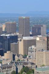 Montréal-vue du Mont Royal