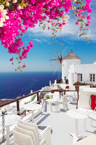 windmill of Oia, Santorini - 70629970
