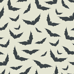 Bat seamless pattern.