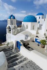 île de Santorin Cyclades Grèce Villade de Oia