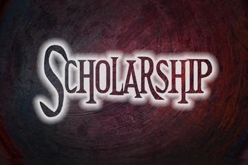 Scholarship Concept