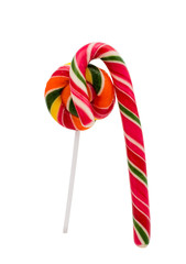 Christmas Candy Isolated