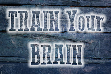 Train Your Brain Concept