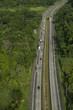 Aerial view of North corridor, Panama, Central America