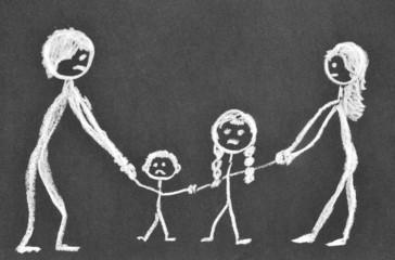 Scheidungskinder - Trennung