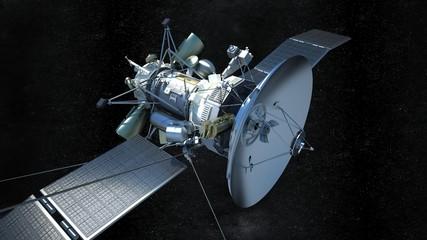 communications satellite