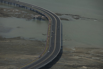 Cinta costera highway, Panama city,Central America