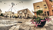 APULIA, ITALY - AUGUST 23, 2012: Locals and tourist enjoy a smal