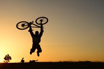 bisiklet ile coşmak