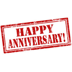 Happy Anniversary!-stamp