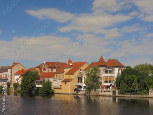 City on the water Ville de Montluçon ; Allier ; Auvergne