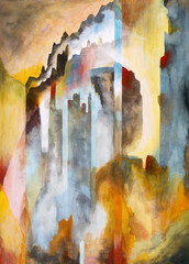 abstracted castles in the air
