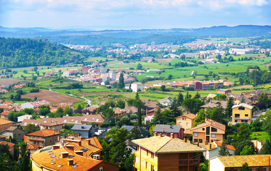 view of Berga area in summer