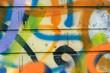 canvas print picture - Graffiti