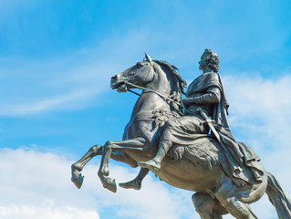Monument of Peter the Great, Saint Petersburg , Russia