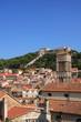 Leinwanddruck Bild - Hvar - la città vecchia - old town