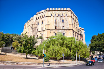 The Normans' Royal Palace in Palermo, Sicily.