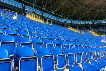 Seats on stadium