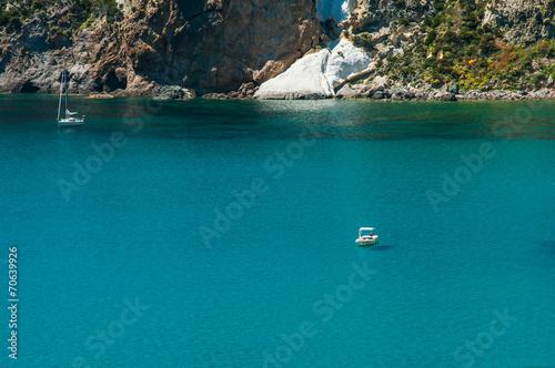 Leinwanddruck Bild Relax sull'isola di Ponza