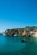 Leinwanddruck Bild - Chiaia di Luna isola di Ponza relax