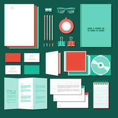 Corporate identity mock-up business 7