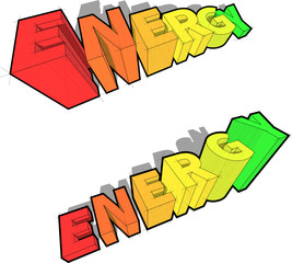 energy rating diagrams