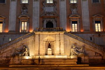 Piazza del Campidoglio,Rome,Italy.
