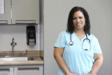 Young Hispanic Nurse