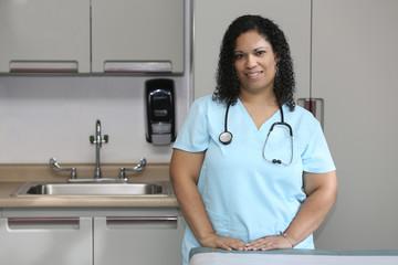 Portrait Multi Ethnic Nurse