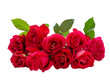 canvas print picture - Bouquet of Red Rose