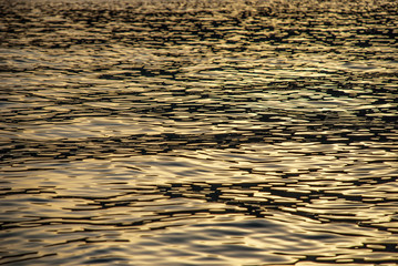 Surface from the sea in sunset 4