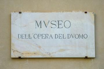 Lastra di marmo, Museo Opera del Duomo, Pisa