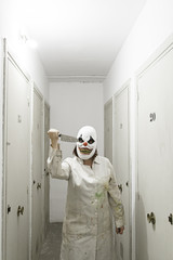 Woman clown costume